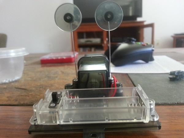 brush robot motor